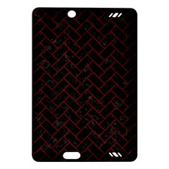Brick2 Black Marble & Red Wood (r) Amazon Kindle Fire Hd (2013) Hardshell Case