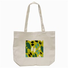 Streaming Forces Music Disc Tote Bag (cream)