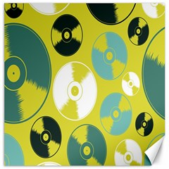 Streaming Forces Music Disc Canvas 20  X 20