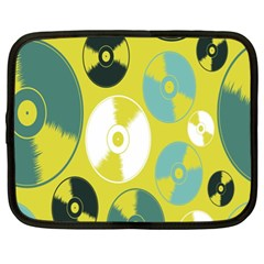 Streaming Forces Music Disc Netbook Case (xl)