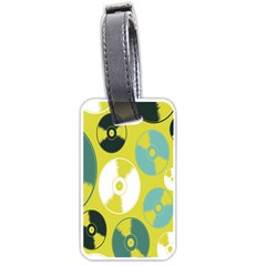 Streaming Forces Music Disc Luggage Tags (one Side)