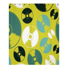 Streaming Forces Music Disc Shower Curtain 60  X 72  (medium)