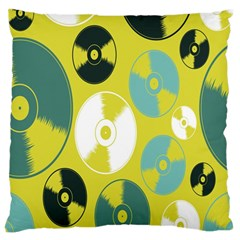Streaming Forces Music Disc Standard Flano Cushion Case (two Sides)