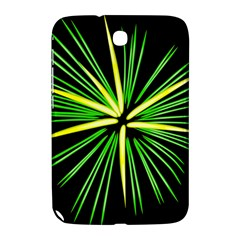 Fireworks Green Happy New Year Yellow Black Sky Samsung Galaxy Note 8 0 N5100 Hardshell Case