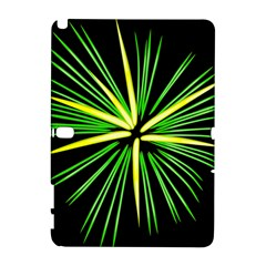 Fireworks Green Happy New Year Yellow Black Sky Galaxy Note 1