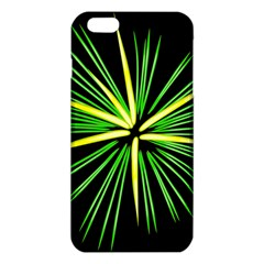 Fireworks Green Happy New Year Yellow Black Sky Iphone 6 Plus/6s Plus Tpu Case