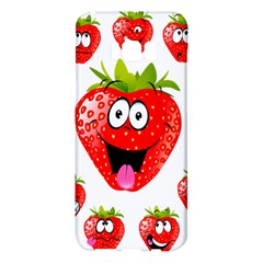 Strawberry Fruit Emoji Face Smile Fres Red Cute Samsung Galaxy S8 Plus Hardshell Case