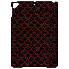 Scales1 Black Marble & Red Wood (r) Apple Ipad Pro 9 7   Hardshell Case