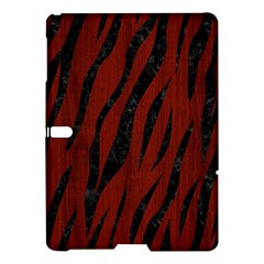 Skin3 Black Marble & Red Wood Samsung Galaxy Tab S (10 5 ) Hardshell Case