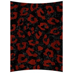 Skin5 Black Marble & Red Wood Back Support Cushion