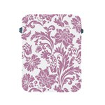 vintage floral pattern Apple iPad 2/3/4 Protective Soft Cases Front