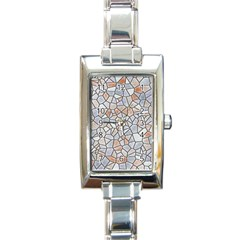 Mosaic Linda 6 Rectangle Italian Charm Watch