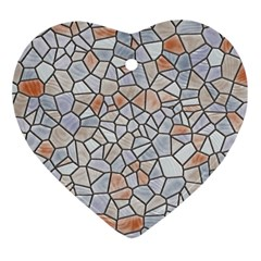 Mosaic Linda 6 Ornament (heart)