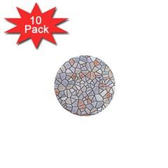 Mosaic Linda 6 1  Mini Magnet (10 Pack)