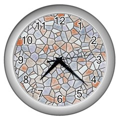 Mosaic Linda 6 Wall Clocks (silver)