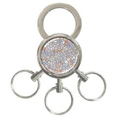 Mosaic Linda 6 3 Ring Key Chains