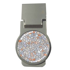 Mosaic Linda 6 Money Clips (round)