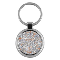Mosaic Linda 6 Key Chains (round)