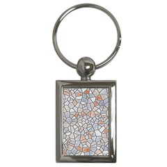 Mosaic Linda 6 Key Chains (rectangle)