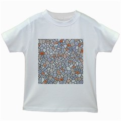 Mosaic Linda 6 Kids White T Shirts