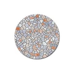 Mosaic Linda 6 Magnet 3  (round)