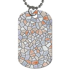Mosaic Linda 6 Dog Tag (two Sides)