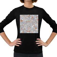 Mosaic Linda 6 Women s Long Sleeve Dark T Shirts