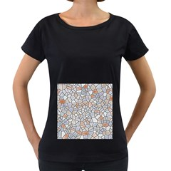 Mosaic Linda 6 Women s Loose Fit T Shirt (black)