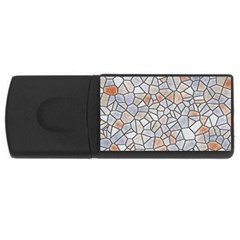 Mosaic Linda 6 Rectangular Usb Flash Drive