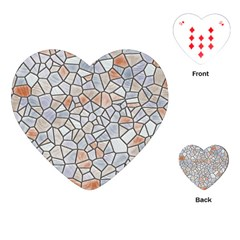 Mosaic Linda 6 Playing Cards (heart)
