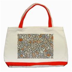 Mosaic Linda 6 Classic Tote Bag (red)