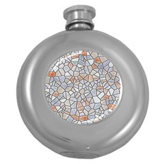 Mosaic Linda 6 Round Hip Flask (5 Oz)