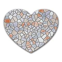Mosaic Linda 6 Heart Mousepads