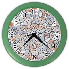 Mosaic Linda 6 Color Wall Clocks
