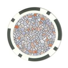Mosaic Linda 6 Poker Chip Card Guard (10 Pack)