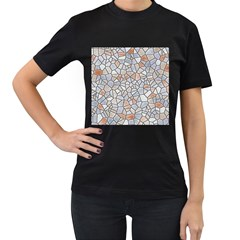 Mosaic Linda 6 Women s T Shirt (black)