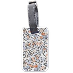Mosaic Linda 6 Luggage Tags (one Side)