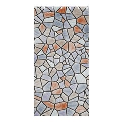 Mosaic Linda 6 Shower Curtain 36  X 72  (stall)