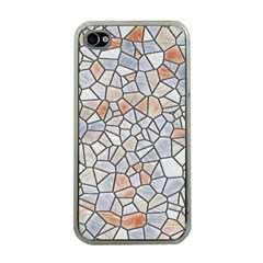 Mosaic Linda 6 Apple Iphone 4 Case (clear)