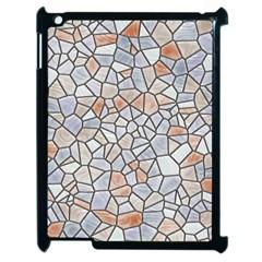 Mosaic Linda 6 Apple Ipad 2 Case (black)