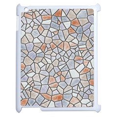 Mosaic Linda 6 Apple Ipad 2 Case (white)