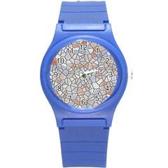Mosaic Linda 6 Round Plastic Sport Watch (s)