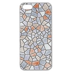 Mosaic Linda 6 Apple Seamless Iphone 5 Case (clear)