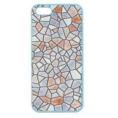 Mosaic Linda 6 Apple Seamless Iphone 5 Case (color)