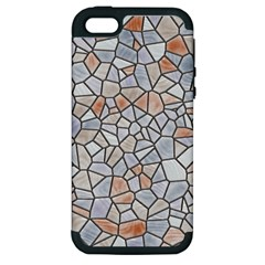 Mosaic Linda 6 Apple Iphone 5 Hardshell Case (pc+silicone)