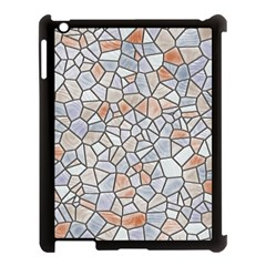 Mosaic Linda 6 Apple Ipad 3/4 Case (black)