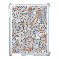 Mosaic Linda 6 Apple Ipad 3/4 Case (white)