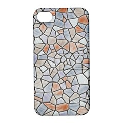 Mosaic Linda 6 Apple Iphone 4/4s Hardshell Case With Stand