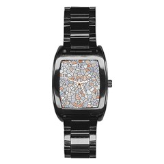Mosaic Linda 6 Stainless Steel Barrel Watch