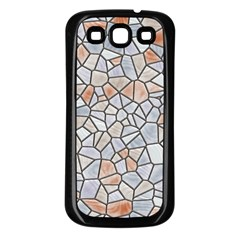 Mosaic Linda 6 Samsung Galaxy S3 Back Case (black)